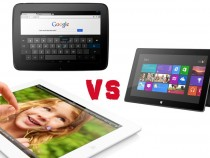 Nexus 10 vs. iPad 4 vs. Surface RT