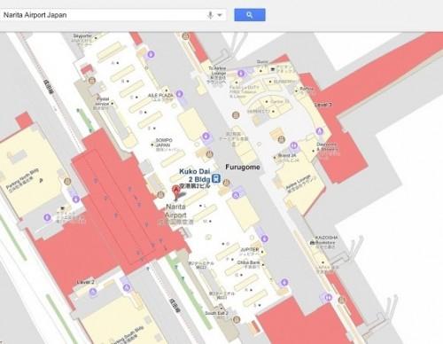 Google Maps Offering Indoor Floor Plans on Desktop