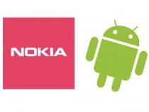 Nokia and Android logos