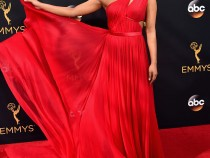Priyanka Chopra Stuns Emmy's With Red Dress; Presents An Award With Tom Hiddleston