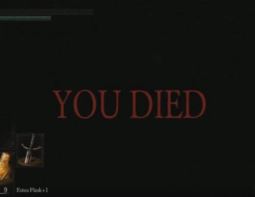 YOU DIED [Dark Souls]