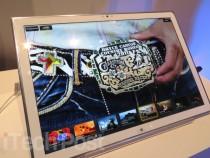 Panasonic 20-inch Ultra HD tablet