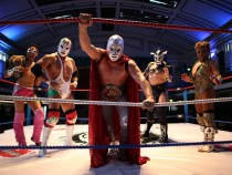 The Lucha Libre - Mexico's Acrobatic Masked Wrestling Superheroes Arrive In London