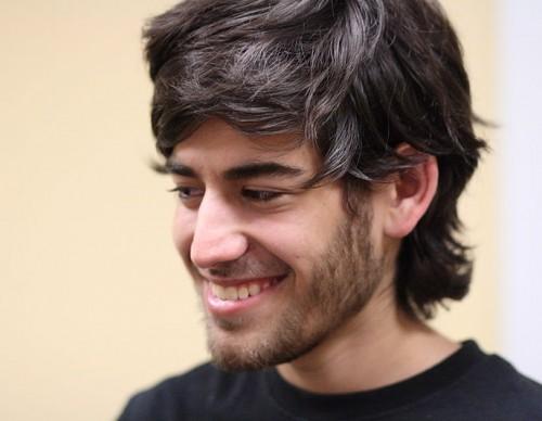 The late Internet activist Aaron Swartz