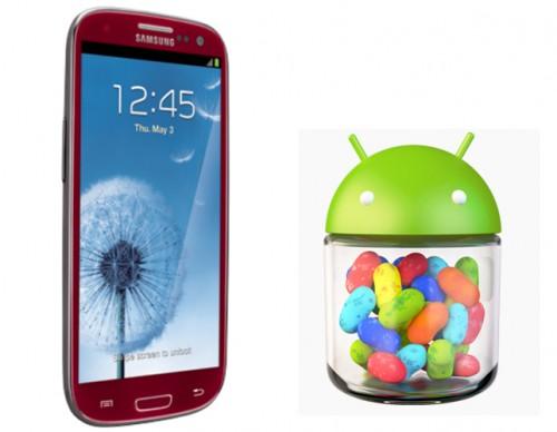 Galaxy S3 Jelly Bean Update