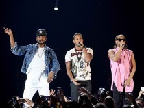 Trio Usher, Lil Jon and Ludacris on iHeartRadio Music Fest