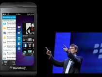 BlackBerry Z10 and BlackBerry CEO Thorsten Heins