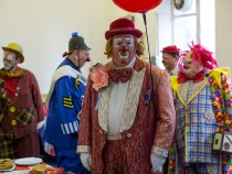 Clowns Gather For Annual Church Service Honouring Joseph Grimaldi