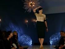 Intel Tech Featured On Hussein Chalayan's Catwalk During Paris Fashion Week Show