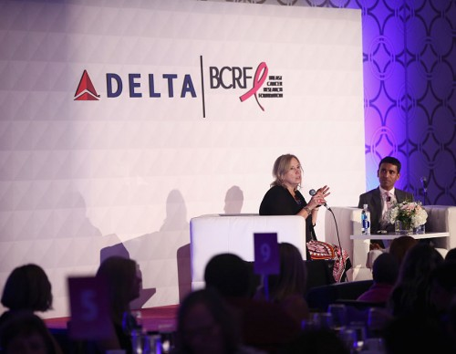 Delta Air Lines And The Breast Cancer Research Foundation Host The 'Breast Cancer One' Dinner
