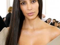 Kim Kardashian Goes Without Make up and Underwear at Paris Fashion Week 2016