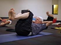 Yoga retiree
