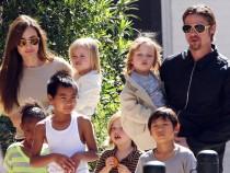Brangelina Couple with Kids