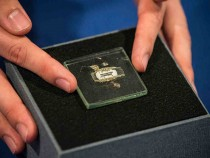 1958 Prototype Of Microchip Used In Nobel-Prize Winning Invention