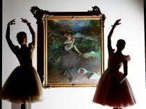 Ballerinas Bring Art To Life During Degas Exhibition Preview