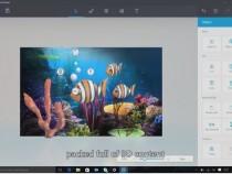3D image, Microsoft 10;s new Paint app?