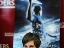 Cast Of 'Percy Jackson & The Olympians: The Lightning Thief' Visits Borders