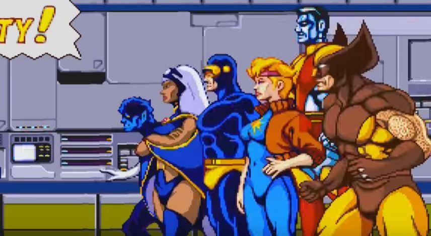 X-Men: The Arcade Game (Konami) (1992) Full Playthrough