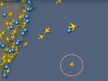 Plane Tracker Captures Speeding UFO