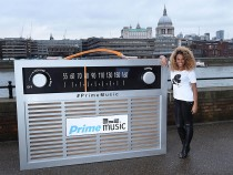 Fleur East Celebrates Launch Of Prime Stations On Amazon's Prime Music Streaming Service