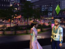 Other features of The Sims 4: City Living include glossy basketball court available in plenty of colors.