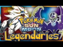 Pokémon Sun and Moon Legendaries