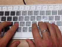 E Ink Keyboard Concept