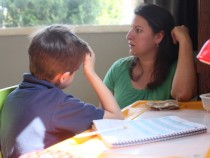 A mother dealing with Child who has ADHD
