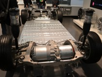 The Tesla Model S Chassis