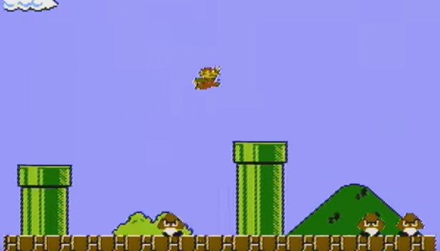 Super Mario Bros. Speedrun in 4:57.244