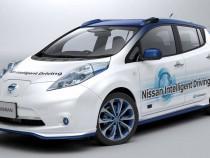 A Nissan Autonomous Car model