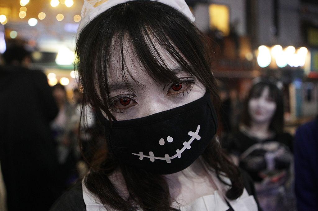 South Koreans Celebrate Halloween