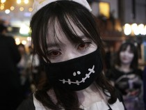 South Koreans Celebrate Halloween
