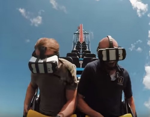 VR Makes Its Way To Roller Coaster Rides, A Cheaper Way To Try Before Buying The Headset