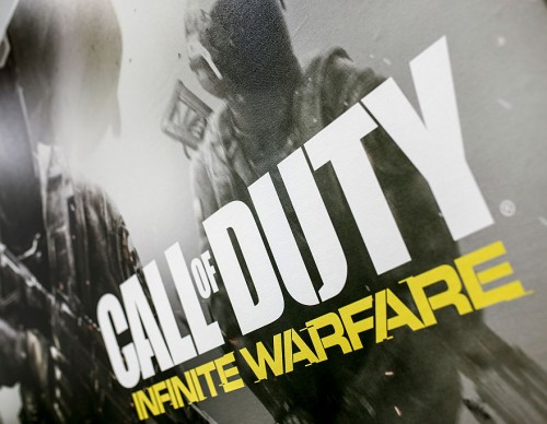 Call of Duty: Infinite Warfare standard multiplayer was augmented with double XP.