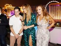 Jennifer Lopez Celebrates Her Birthday With A Lavish Party At The Nobu Villa Atop Nobu Hotel at Caesars Palace