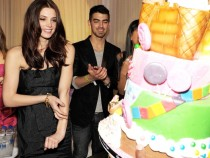 Ashley Greene Hosts Her 24th Birthday At Pure Nightclub At Caesars Palace