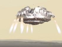 ESA Lander Near Mars