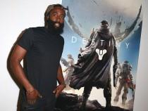 James Harden Having A Picture With Destiny Poster
