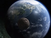 Impact Simulation of an Asteroid Colliding with Earth