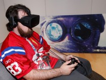 Gamer Tries Oculus Rift