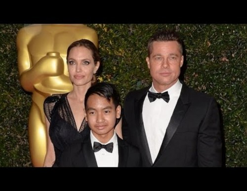 Brangelina Couple with Maddox