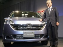 Honda President Introduces The Step Wagon