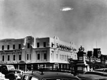 Geneva Stadium UFO Sighting Beguiles Skeptics: Alien Ship, Drone, Or Pentagon Black Project?