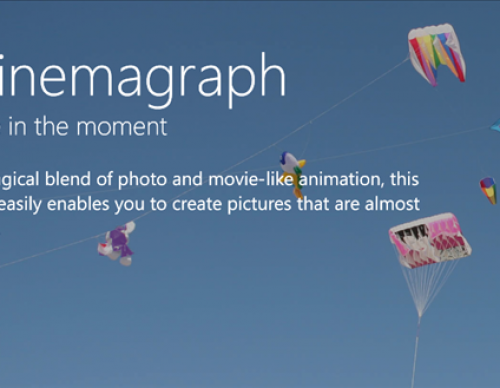 Cinemagraph App for Nokia WP7.5 and WP 7.8