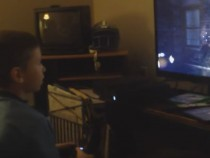 Kid Plays Call of Duty Black Ops 3 for First Time