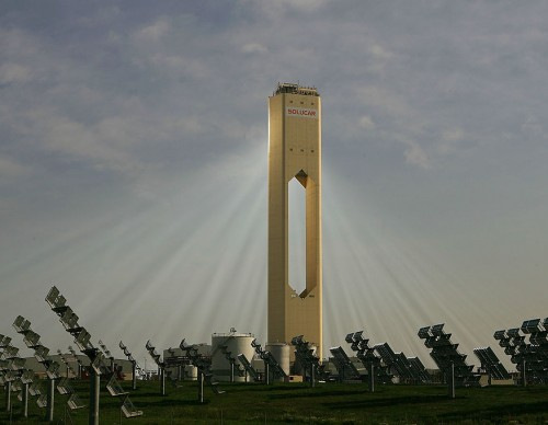 Solar Power Tower To Produce Enough Energy For 180,000 Homes