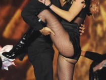 US singer Britney Spears performs on stage