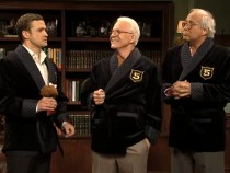 Justin Timberlake, Steve Martin and Chevy Chase