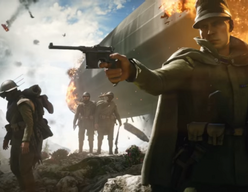Battlefield 1 players may not a medal or two shown during the loading screen.